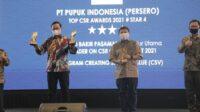 Pupuk Indonesia Sabet Penghargaan Top CSR Award
