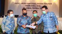 RUPST Kimia Farma, Menteri BUMN Lakukan Penyegaran Jajaran Komisaris dan Direksi