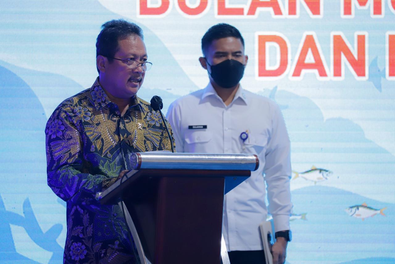 Resmikan Bulan Mutu Karantina, Menteri Trenggono Lepas Ekspor Produk Perikanan ke-40 Negara Senilai Rp1 Triliun