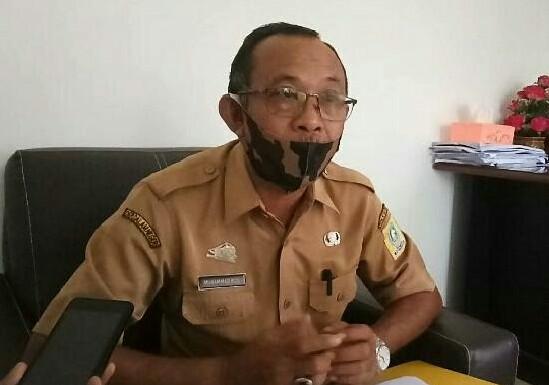 Kasubag Pelayanan Dasar Bagian Kesra Setdakab Sinjai, Muhammad Riza. /Ashari/AKURATNEWS