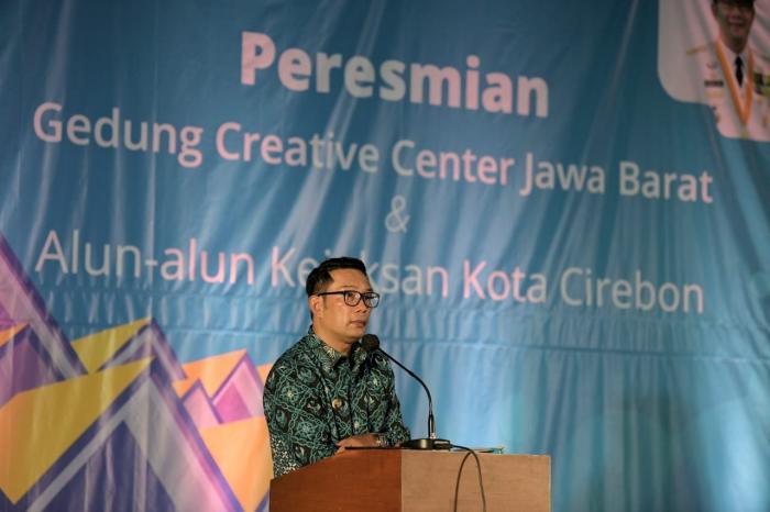 Ridwan Kamil Resmikan Creative Center di Cirebon