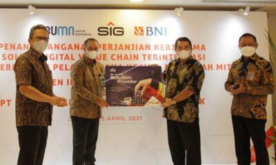 Sediakan Pembiayaan bagi Distributor, Semen Indonesia Gandeng BNI