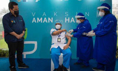 Selama Bulan Ramadhan, Jam Operasional Sentra Vaksinasi Bersama BUMN Berubah
