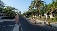 Sepinya Kawasan Kuta Bali Saat Pandemi