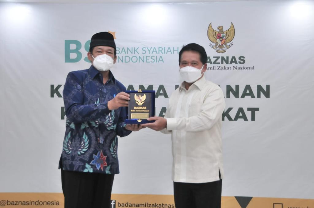 Sinergi Kelola Zakat Baznas dan BSI Capai Rp300 Triliun
