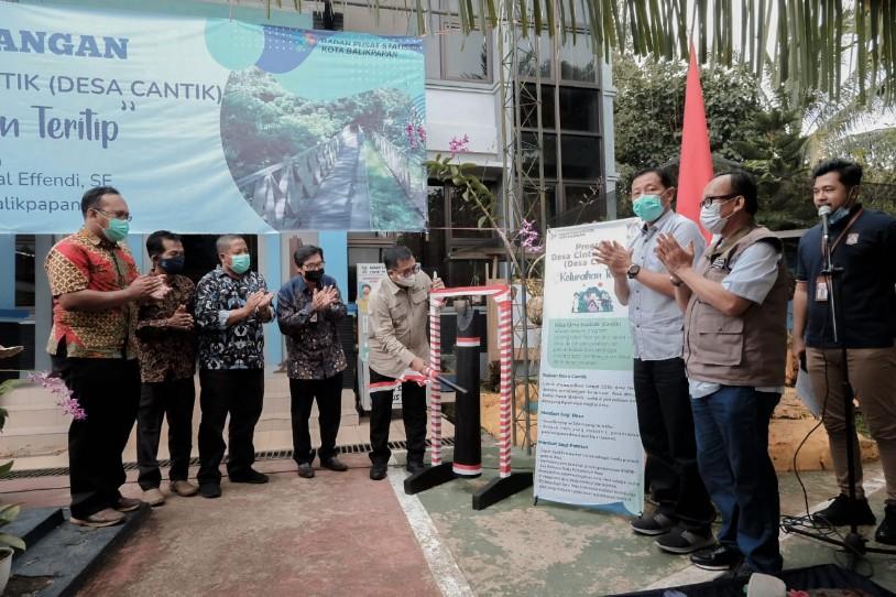 Wali Kota Canangkan Teritip Sebagai Desa Cinta Statistik