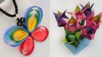 6 Inspirasi Kerajinan dari Kertas yang Mudah Dibuat untuk Kegiatan Anak