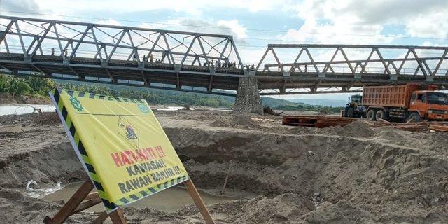 Anggarkan 300 M, Pemerintah Perbaiki 10 Jembatan Terdampak Badai Seroja di NTT