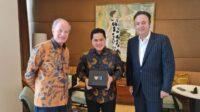 BUMN Go Global, Erick Thohir Perkuat Kerja Sama Sarinah dan Dufry