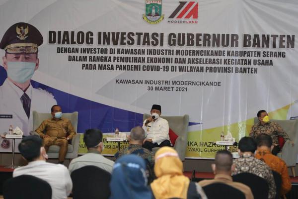 Banten Catat Hasil Investasi Positif pada Triwulan I Capai Rp 14,78 Triliun