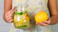 Benarkah Air Lemon Bisa Turunkan Berat Badan? Cek Faktanya di Sini, Yuk!