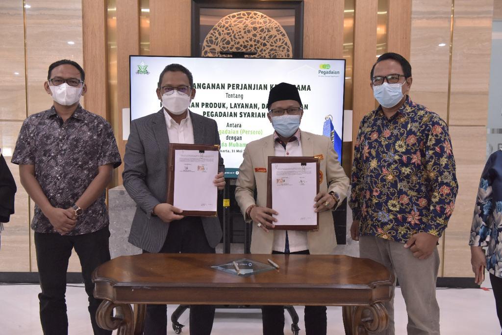 Berdayakan Ummat, Pegadaian Gandeng PP Pemuda Muhammadiyah