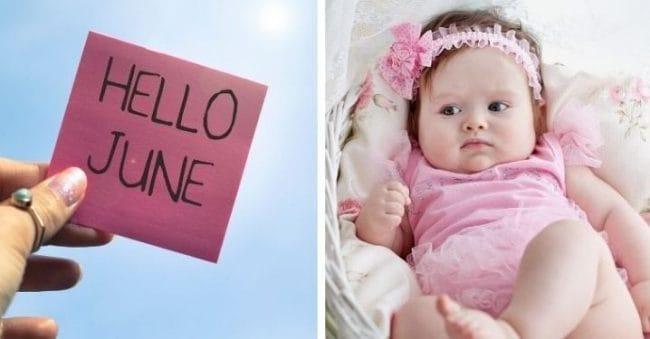 Cantik! 30 Nama Bayi Perempuan Terinspirasi dari Keindahan Bulan Juni