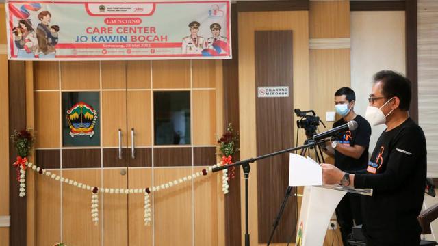 Cegah Kasus Perkawinan Anak, Pemprov Jateng Luncurkan Care Center Jo Kawin Bocah