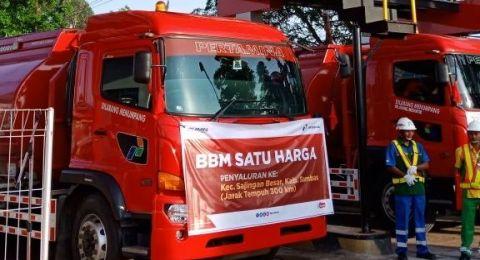 Dorong Produktivitas Daerah, Pertamina Bangun 76 Titik BBM Satu Harga