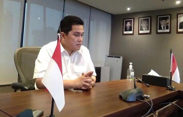 Erick Thohir Puji Bank Mandiri Pertamina Bentuk Sentra Pengolahan Beras