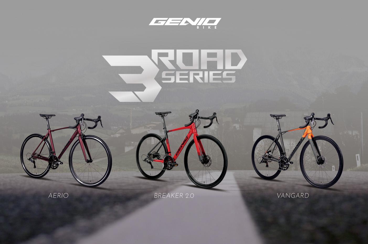 GENIO 3ROAD SERIES: Sepeda Ekonomis Berspesifikasi Tinggi