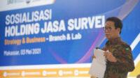 Gelar Sosialisasi, BUMN Jasa Survei Siap Berkolaborasi Untuk Kemajuan Indonesia Timur