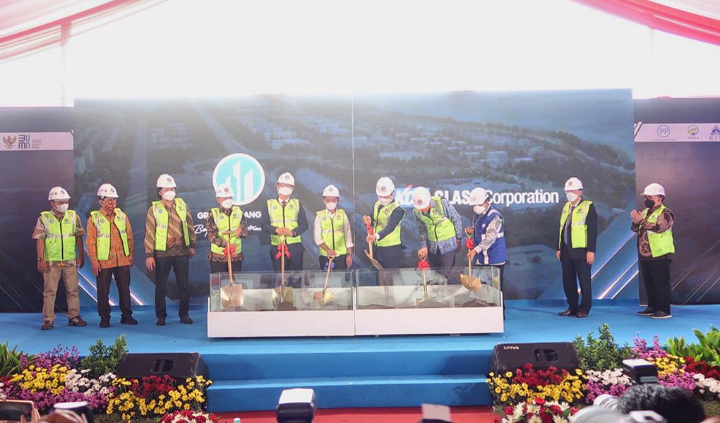Groundbreaking Pabrik Pertama KIT Batang