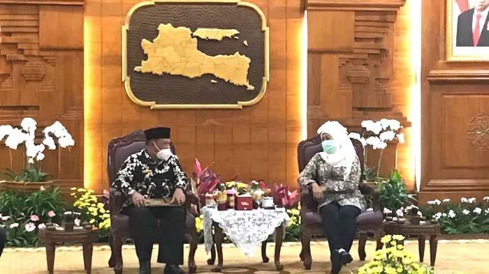 Gubernur Jatim Lantik Marhaen Djumadi Jadi Plt Bupati Nganjuk