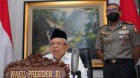 Halal Bihalal IKA UB, Ma'ruf Amin Singgung Ekonomi Syariah
