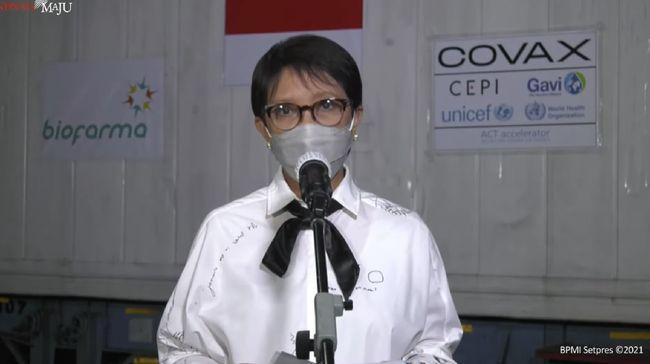 Indonesia Terima Tambahan 1,3 Juta Vaksin Covid-19 Astrazeneca