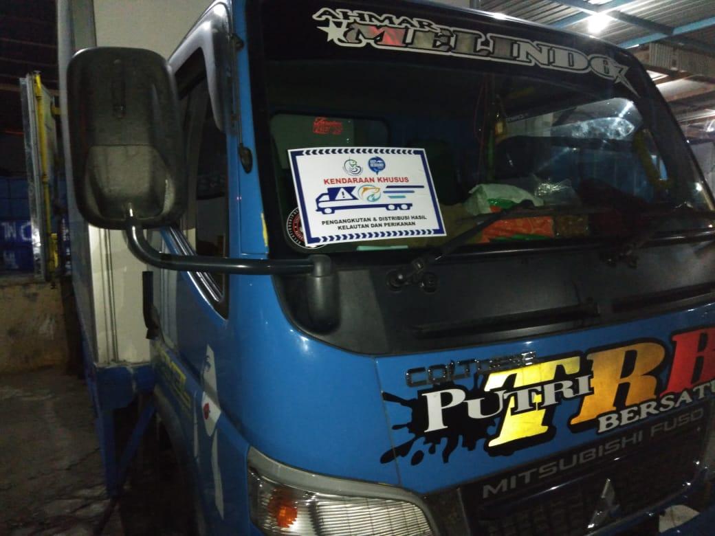KKP Siapkan Stiker Khusus, Jamin Kelancaran Angkutan Logistik Perikanan Jelang Idul Fitri 1442 H