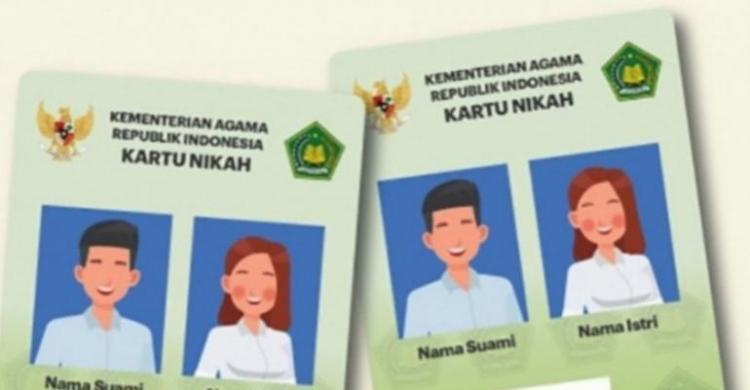 Kemenag Luncurkan Kartu Nikah Digital, Ini Manfaatnya