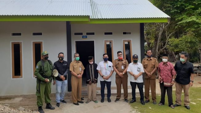 Kempupera Lanjutkan Bantuan Pembangunan Perumahan Swadaya