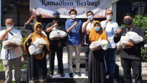 "Kolaborasi Lima BUMN Industri Pertahanan Gelar ""Ramadhan Berbagi"" Secara Serentak"