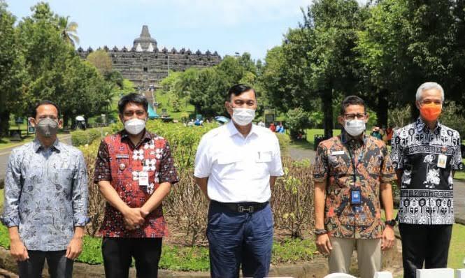 Luhut Minta Pengembangan Borobudur Perhatikan Aspek Sustainability