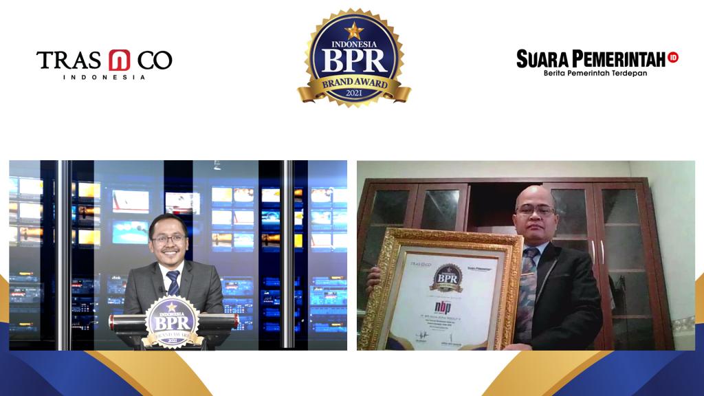 Masuk TOP 10 BPR di Sumut, BPR Nusantara Bona Pasogit 8 Raih Indonesia BPR Brand Award 2021 - Suara Pemerintah