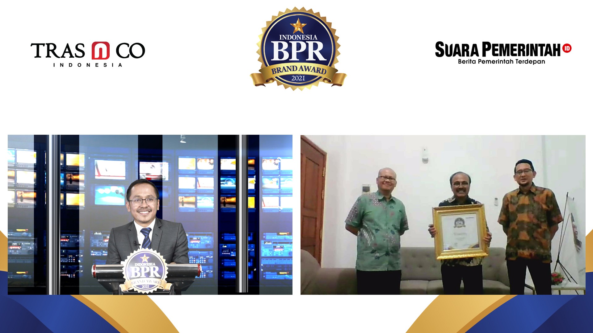 Masuk TOP 250 BPR di Indonesia, BPR Nusumma Jatim Raih Indonesia BPR Brand Award 2021 - Suara Pemerintah