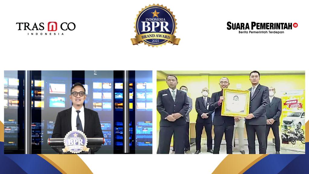 Masuk TOP 250 BPR di Indonesia, PUD BPR Karanganyar Raih Indonesia BPR Brand Award 2021 - Suara Pemerintah