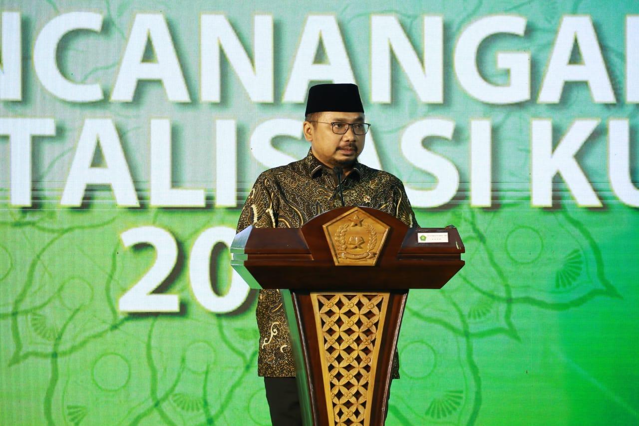 Menag Yaqut Targetkan Revitalisasi 5.945 KUA di Seluruh Indonesia