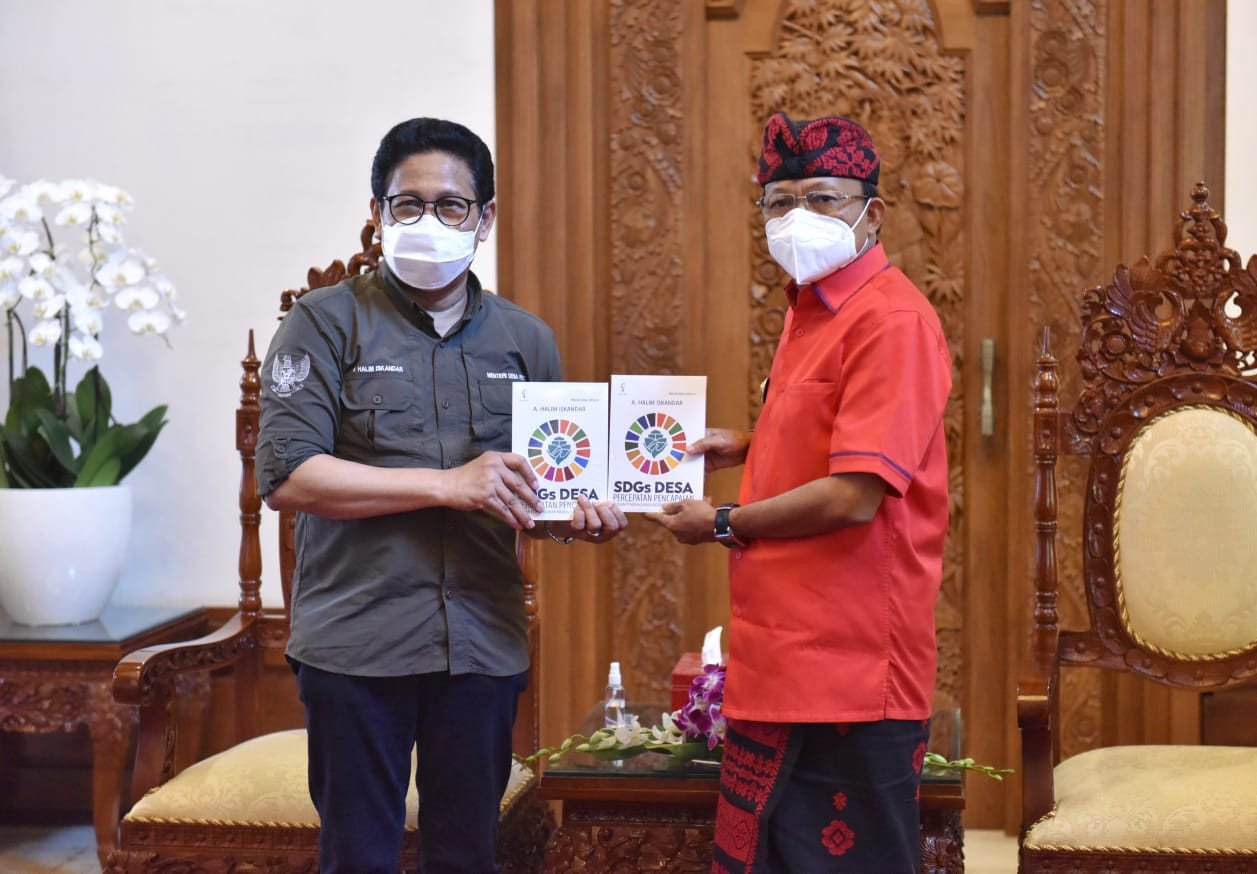 Mendes PDTT Apresiasi Penanganan Sampah di Bali