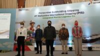 Menteri BUMN Resmikan Subholding Pertamina International Shipping