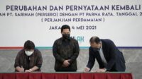 PT Sarinah dan PT Parna Raya Lanjutkan Kerjasama Transformasi Hotel Sari Pacific Jakarta