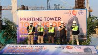 PTPP Topping Off Ceremony Maritime Tower