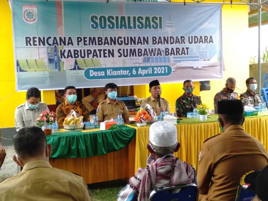 Pemkab Sumbawa Barat Akan Bangun Bandara di Desa Kiantar