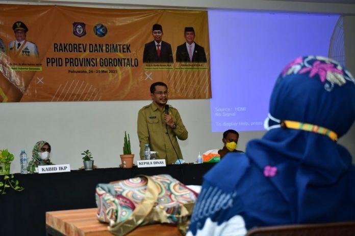 Pemprov Gorontalo Fokus Benahi Layanan Informasi Publik