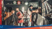 Pergi ke BarbershopWajib bagi Pria Milenial