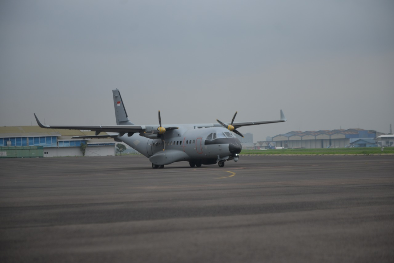 Pesawat CN235-220 MPA Bikinan PTDI Telah Melanglang Buana