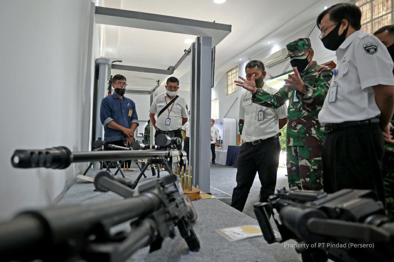 Pindad Klarifikasi, 25 Ribu Senjata Pesanan Kemhan untuk TNI