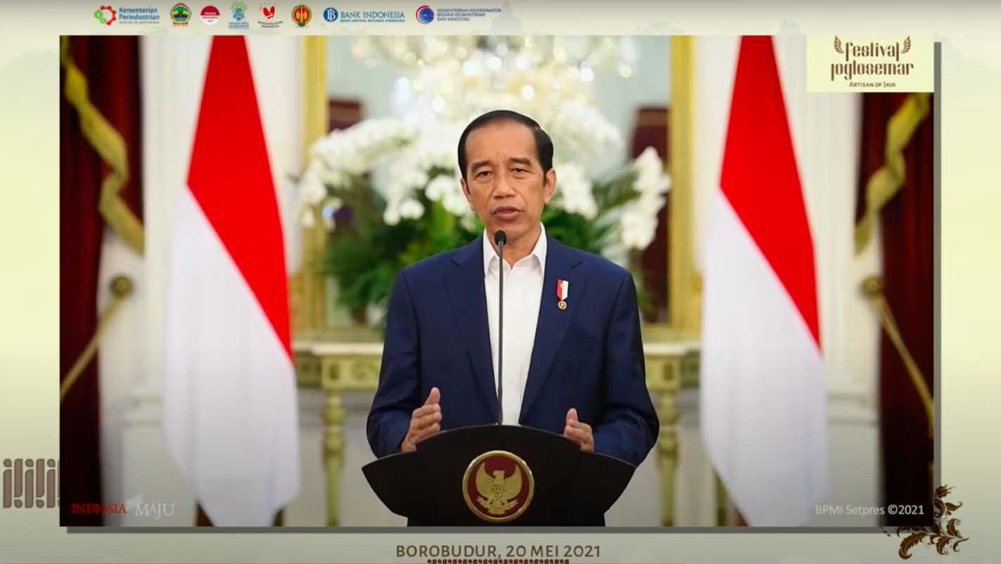 Presiden Jokowi: Tempatkan Produk UMKM di Etalase Terdepan