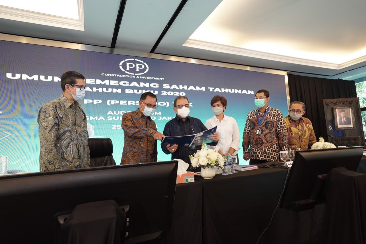 RUPST 2020, PTPP Catatkan Laba Bersih Rp266 Miliar