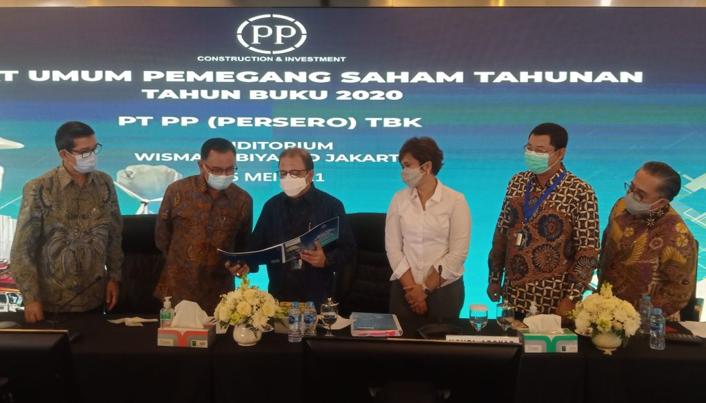 RUPST 2020, PTPP Ubah Jajaran Direksi dan Komisaris