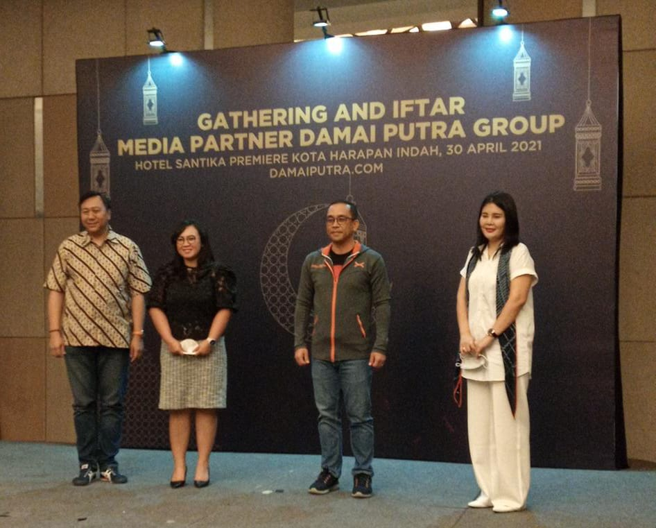 Rayakan HUT 40, Damai Putra Group Gelar Media Gathering dan Santunan Anak Yatim - Suara Pemerintah