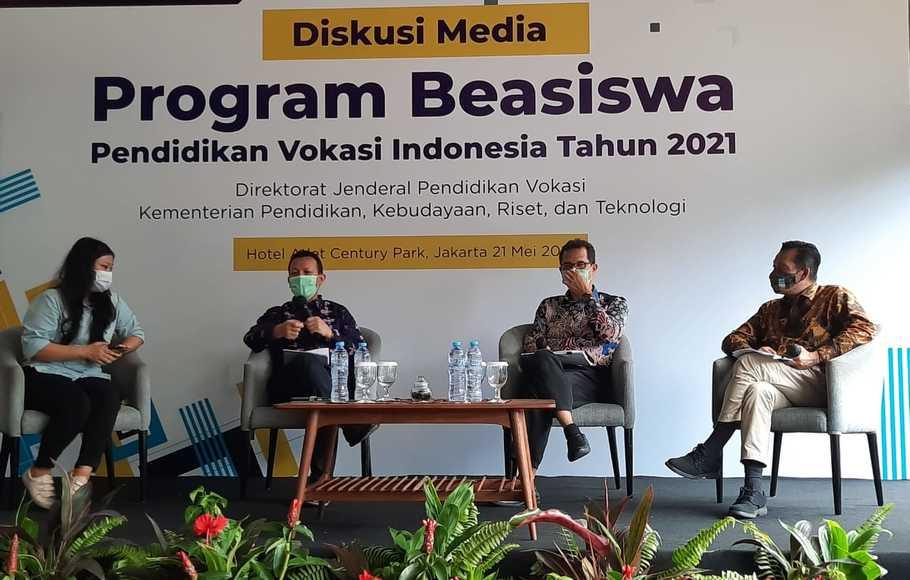 Sinergi Kemdikbudristek- LPDP Siapkan 10.000 Beasiswa Pendidikan Vokasi