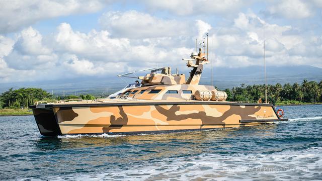 Tank Boat Indonesia, Antasena, Sukses Selesaikan Uji Jelajah dan Tembak